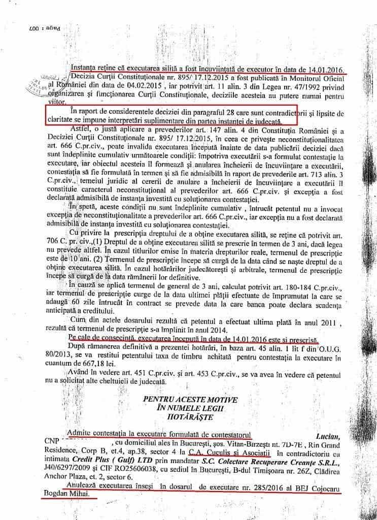 Recuperatori Credite Executare Blocata (2)