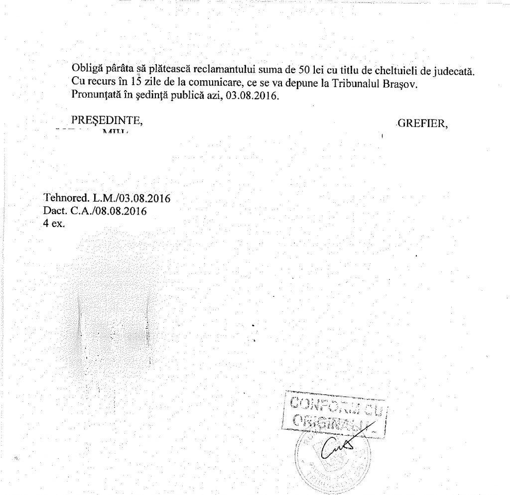 Timbru de mediu sentinta castigata avocat Cuculis