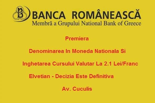 banca romaneasca clauze abuzive