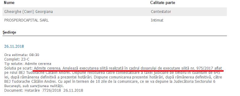 Prosperocapital executa silit ilegal