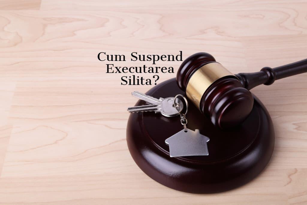 Cum Suspend Executarea Silita