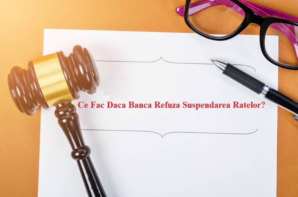 Resping Cererea De Suspendare A Platii Ratelor